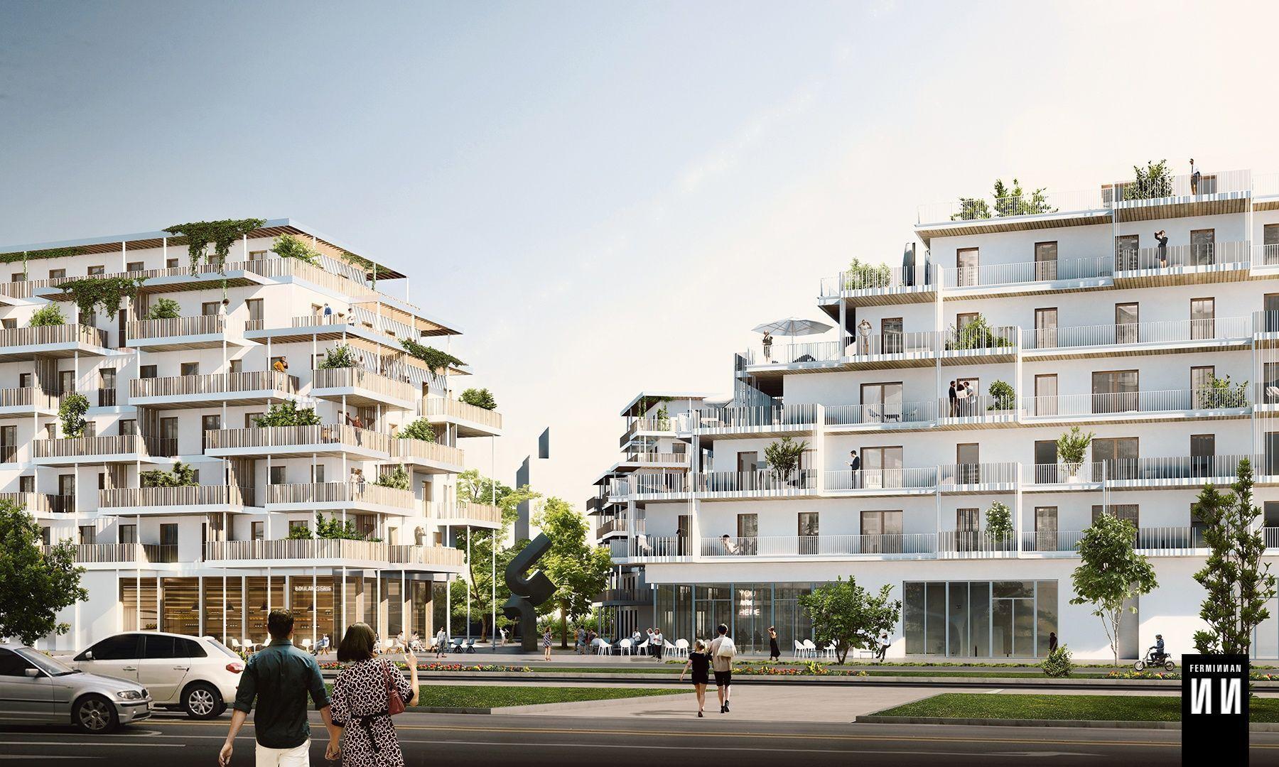 Residential Building Competition in Vélizy-Villacoublay, FR // François Leclercq Architects + Laisné Roussel