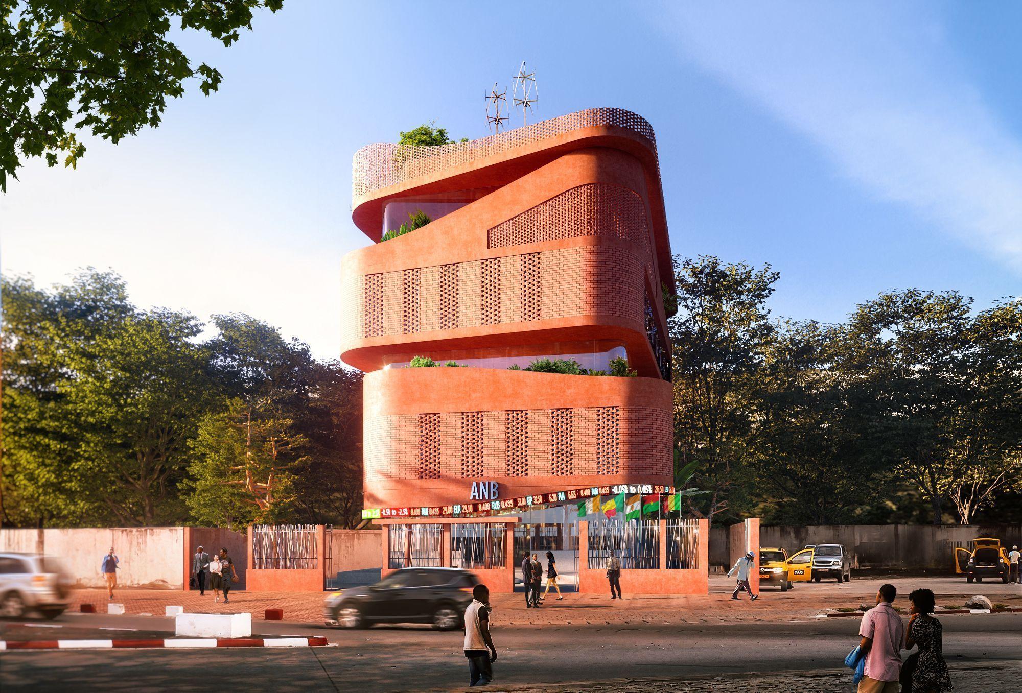 Annexe de la Bourse Régionale des Valeurs Mobilières à Cotonou